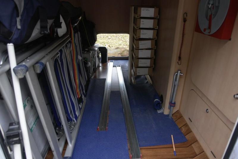 fahrradtr ger in garage welchen wohnmobil forum. Black Bedroom Furniture Sets. Home Design Ideas