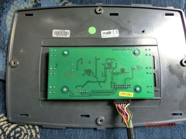 schalt undsteuertafel modell pc  tr im chausson flash