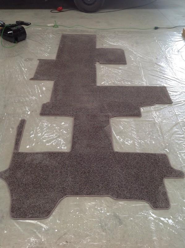 Wie reinigt ihr euren Teppich ohne ihn rauszunehmen
