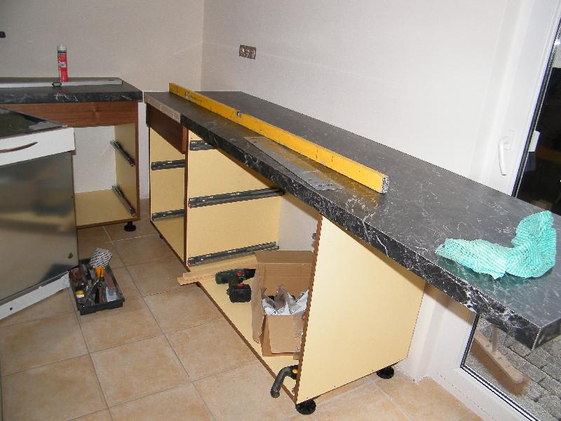 projekt k che erfolgreich beendet woodworker. Black Bedroom Furniture Sets. Home Design Ideas