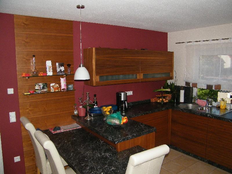 projekt k che erfolgreich beendet. Black Bedroom Furniture Sets. Home Design Ideas
