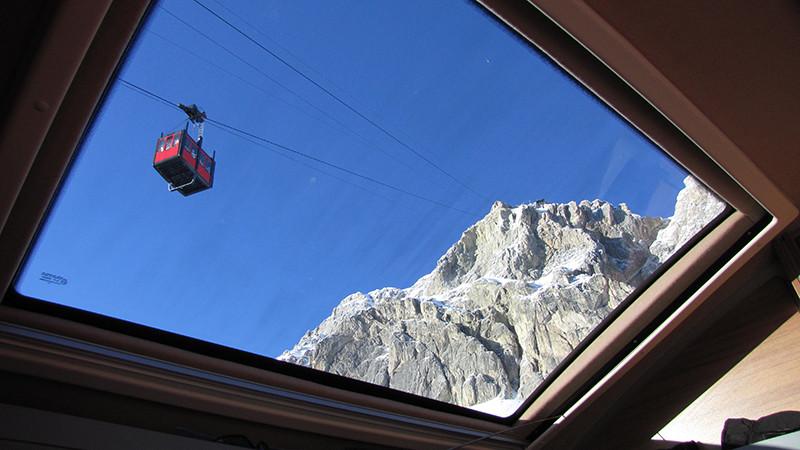 Panorama Dachfenster Wohnmobil