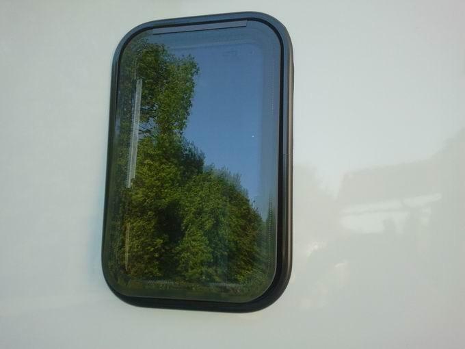 Fenster Bad Undurchsichtig : Leider kann man auf dem Foto nicht gut erkennen, wie gut man von