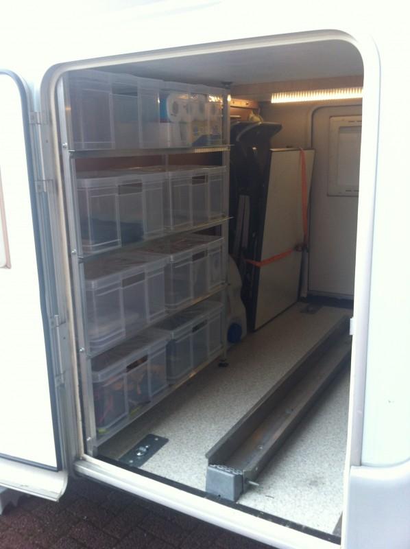 Regal garage  Garage einrichten / einräumen - Fotos - Wohnmobil Forum