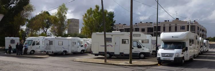 Erster Wohnmobilstellplatz Auf Mallorca Eingeweiht