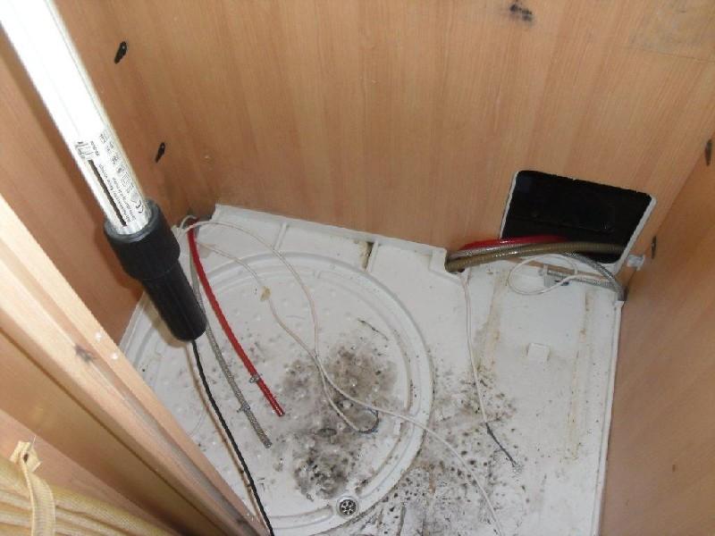 wohnmobil dusche ausbauen euro fr einbau der duschwanne ok - Wohnmobil Dusche Ausbauen