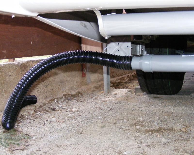 Abwasserschlauch wohnwagen Fäkalentleerung, Abwasserschieber