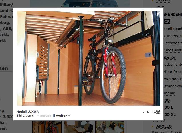 ausziehbarer laderaum im mb sprinter kastenwagen cs. Black Bedroom Furniture Sets. Home Design Ideas
