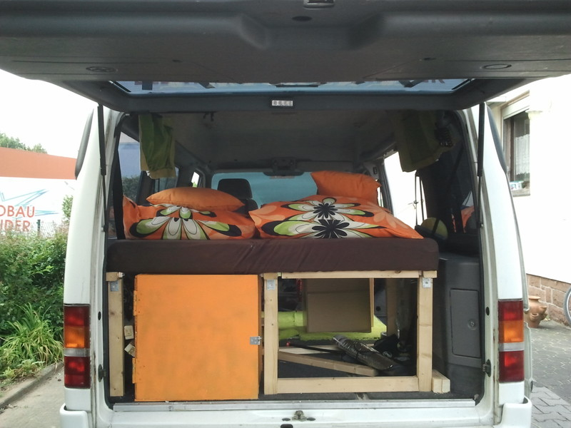 ford transit 9sitzer f r 1 woche umbauen wohnmobil forum. Black Bedroom Furniture Sets. Home Design Ideas