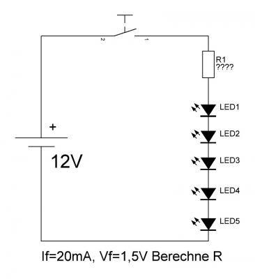 leuchtdiode led funktionsweise und berechnung rdt wohnmobil forum seite 1. Black Bedroom Furniture Sets. Home Design Ideas