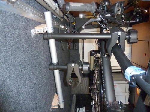 warum fahrradhalterung in heckgarage wohnmobil forum. Black Bedroom Furniture Sets. Home Design Ideas