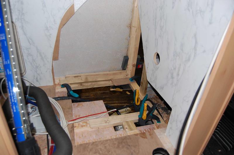 Fußboden Im Wohnwagen Erneuern ~ Unterboden teilweise erneuern aber wie wohnmobil forum seite