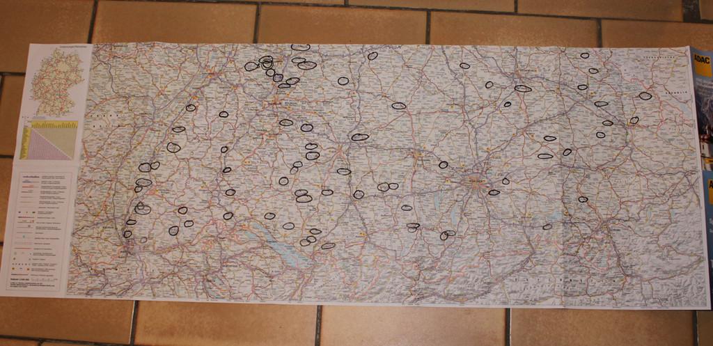 landvergnügen karte Das Pendant zu France Passion… Landvergnügen   Wohnmobil Forum Seite 2