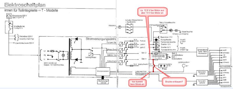 Bürstner T620 Batteriestatusanzeige zeigt immer 0,1 V an - Wohnmobil ...