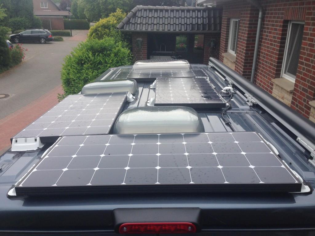solar auf kawa und platz f r solarladeregler wohnmobil. Black Bedroom Furniture Sets. Home Design Ideas