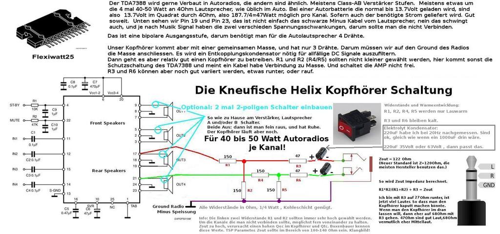 Kopfhörer an Autoradio anschließen - Wohnmobil Forum Seite 2