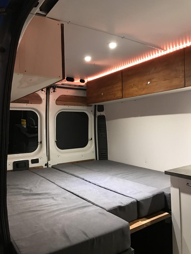 unser otto wird zum wohnmobil kastenwagen ausbau wohnmobil forum seite 1. Black Bedroom Furniture Sets. Home Design Ideas