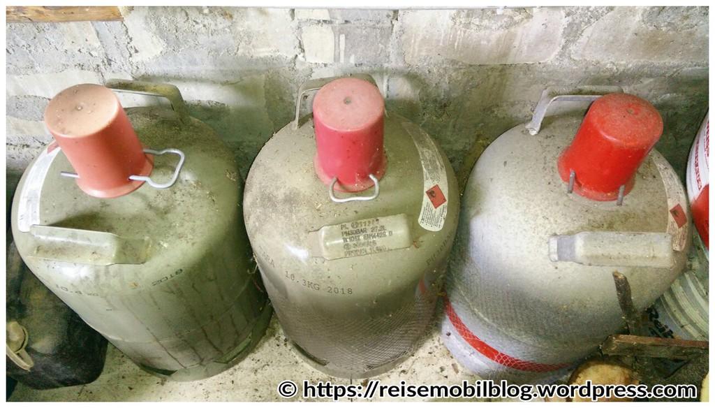 Gasflasche Für Gasgrill Obi : Umgang mit halbvollen gasflaschen brauchen volle flaschen