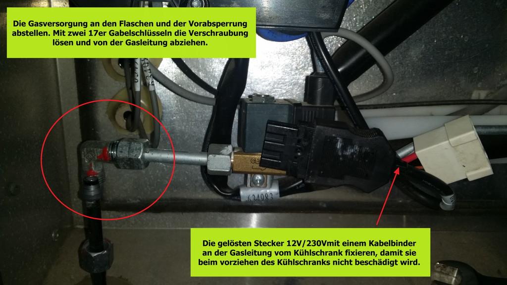 Kühlschrank Motor Aufbau : Austausch der heizpatrone v thetford n kühlschrank