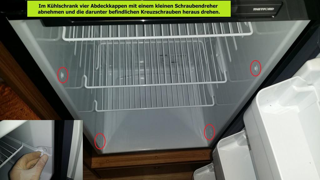 Kühlschrank Aufbau Hinten : Austausch der heizpatrone v thetford n kühlschrank