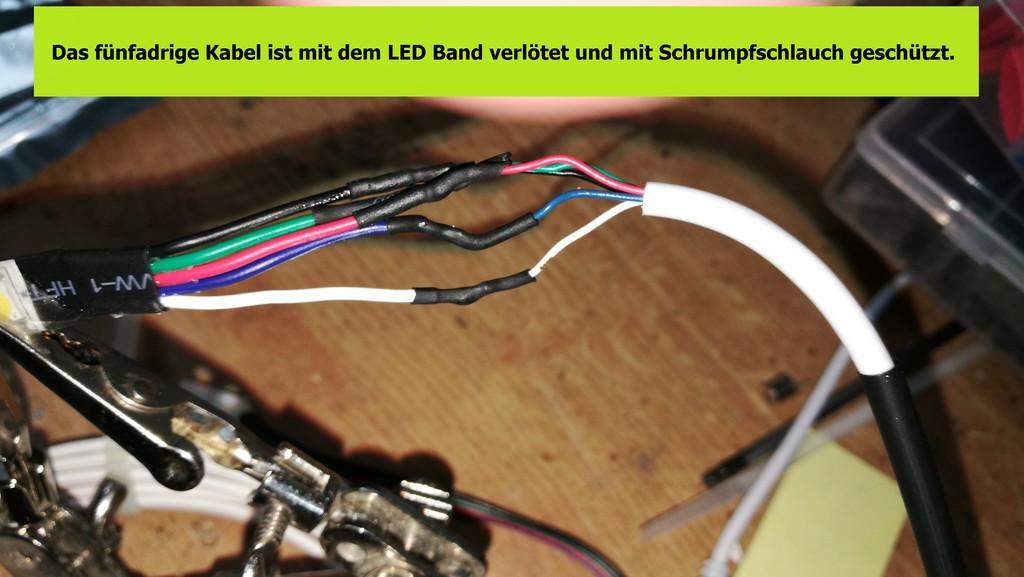 Einbau Led Rgbw Beleuchtung F R Die Markise Wohnmobil