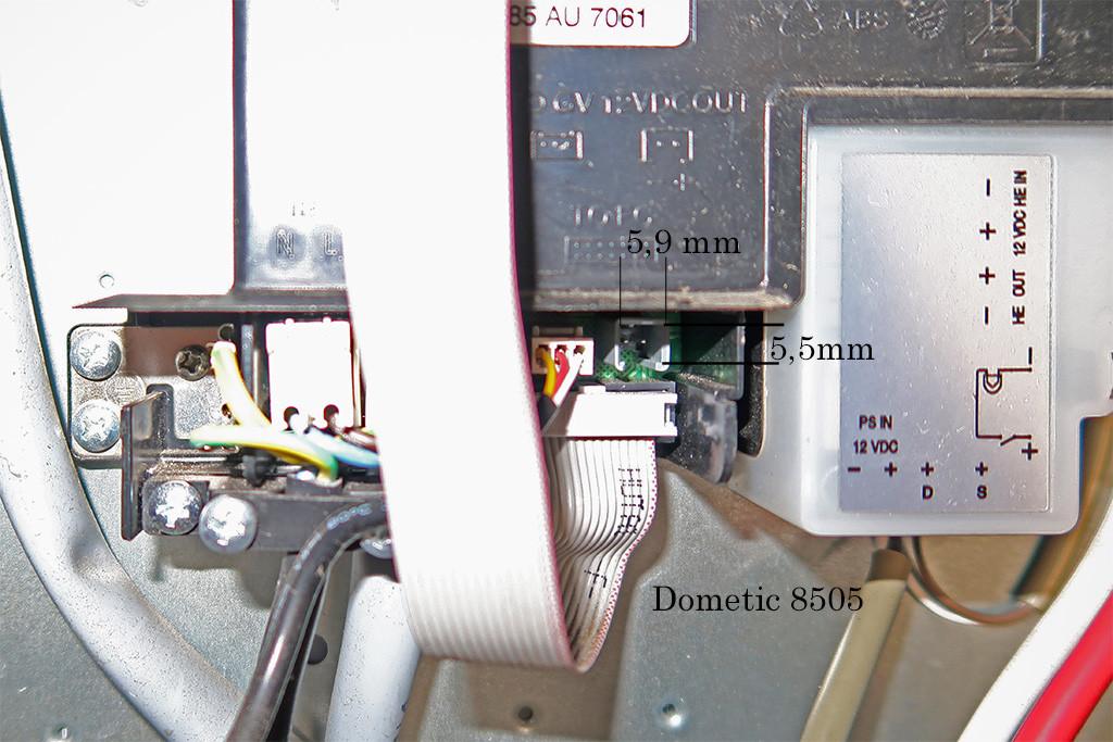 Lüfter an RMD 8505 anschließen Wohnmobil Forum Seite 1