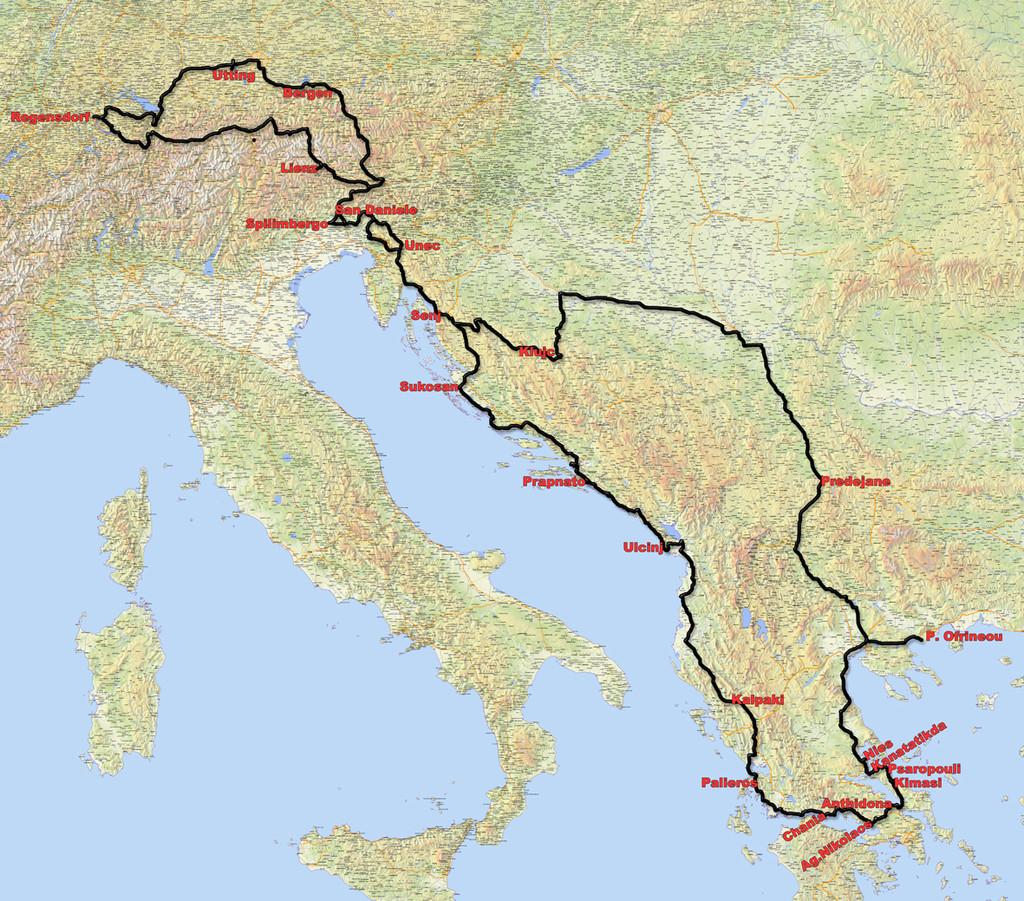 Spring 8, Überland nach Griechenland und zurück - Wohnmobil