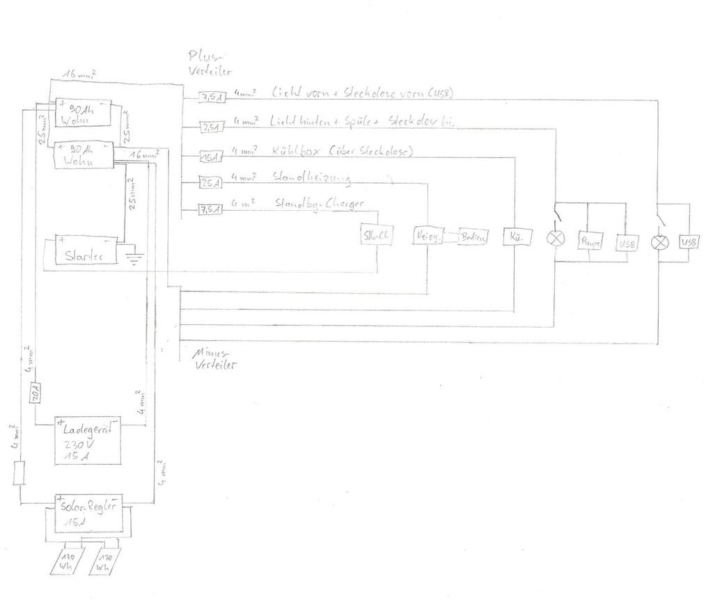 schaltplan zur 12v stromversorgung wohnmobil forum seite 1. Black Bedroom Furniture Sets. Home Design Ideas