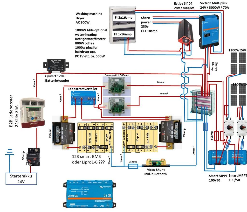 LifePo9 29v 9amp Verschaltungsplan - Unterstützung erbeten