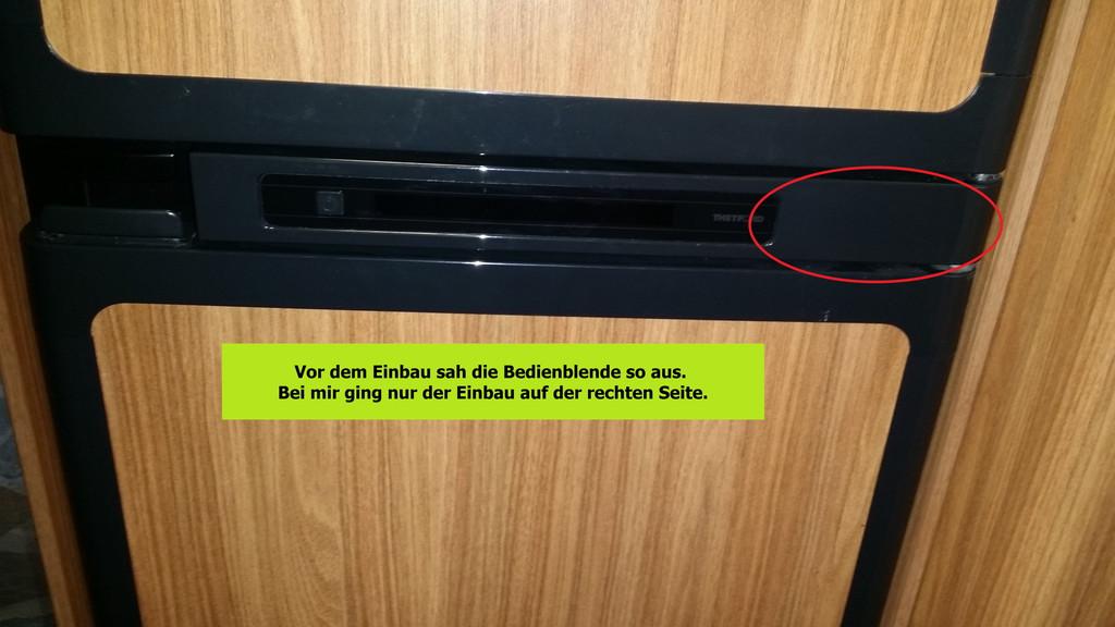 Kühlschrank In Auto Einbauen : Einbau thermometer kühl gefrierschrank thetford n wohnmobil