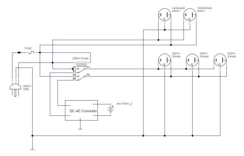 Niedlich Schaltplan Des Kühlschrank Thermostats Bilder - Elektrische ...