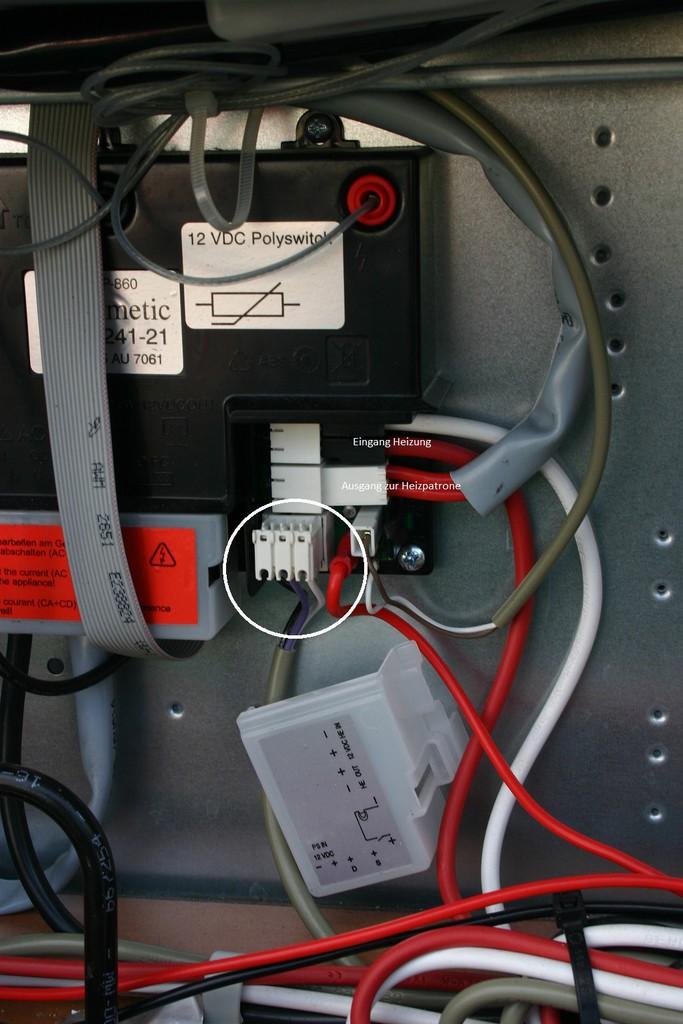 Dometic RMS 8505 elektrischer Anschluss - Wohnmobil Forum Seite 1
