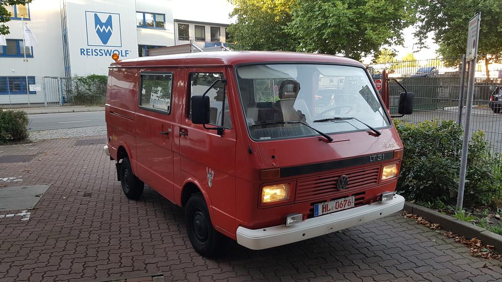 VW LT31 Feuerwehr wird zum Campermobil - Wohnmobil Forum Seite 1