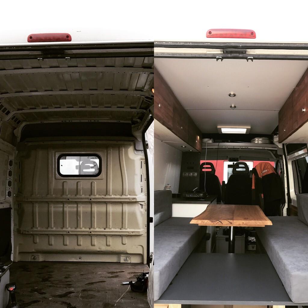 Unser otto wird zum wohnmobil kastenwagen ausbau wohnmobil forum seite 1 - Mobel vorher nachher ...