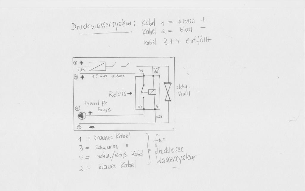 zweiten Taster für Toilettenspülung einbauen - Wohnmobil Forum Seite 1