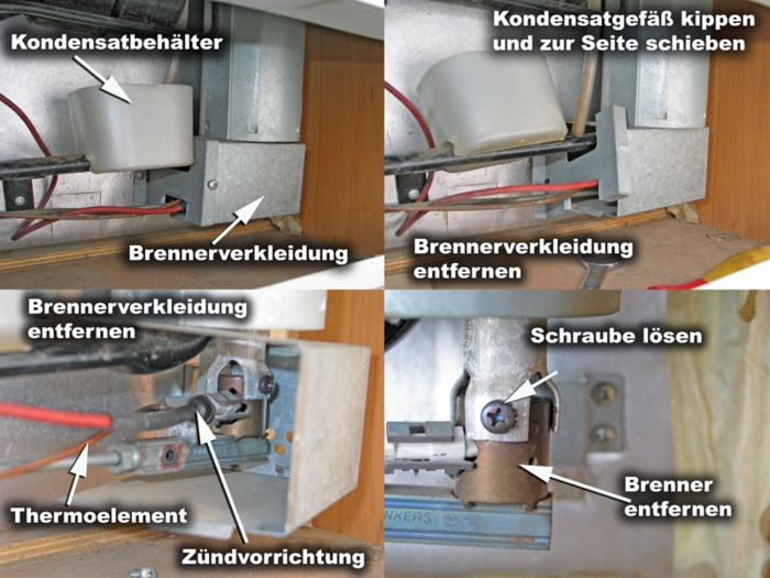 Kühlschrank mit Gas läuft nicht  Wohnmobil Forum ~ Kühlschrank Gas