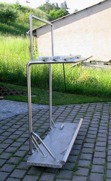 heckplattform f r roller und 2 fahrr der wohnmobil forum. Black Bedroom Furniture Sets. Home Design Ideas