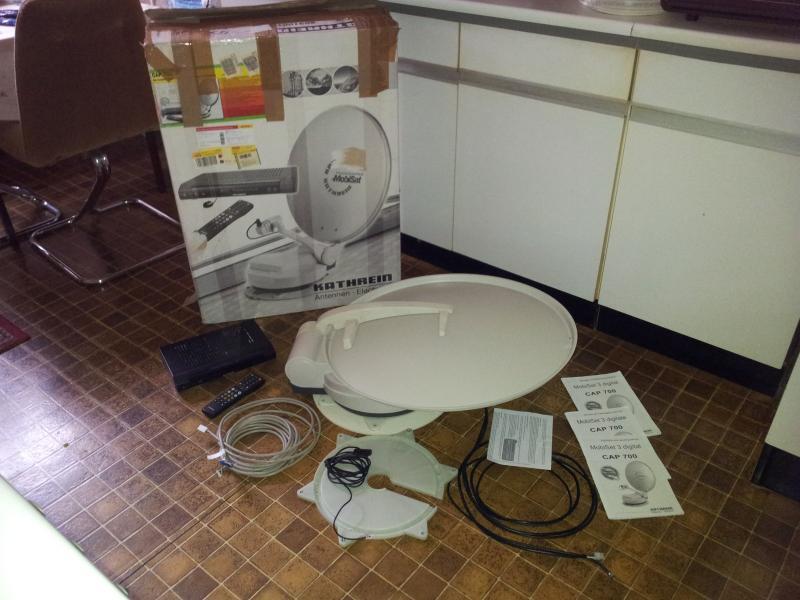 kathrein digitale sat anlage mobiset 3 cap 710 der. Black Bedroom Furniture Sets. Home Design Ideas