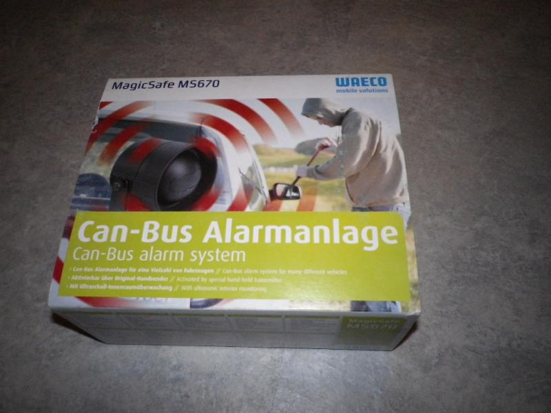 verkaufe waeco ms 670 alarmanlage can bus alarmanlage f. Black Bedroom Furniture Sets. Home Design Ideas