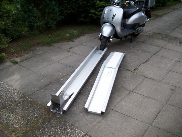 Roller Motorradschiene Rollerschiene F R Einbau In Die
