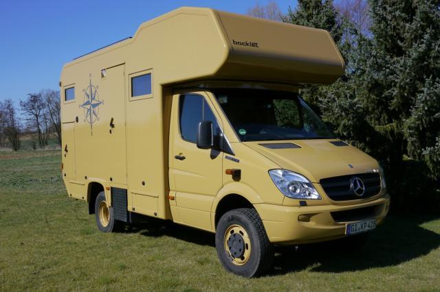 bocklet reisemobil auf mb sprinter iglhaut 4x4 verkauf. Black Bedroom Furniture Sets. Home Design Ideas