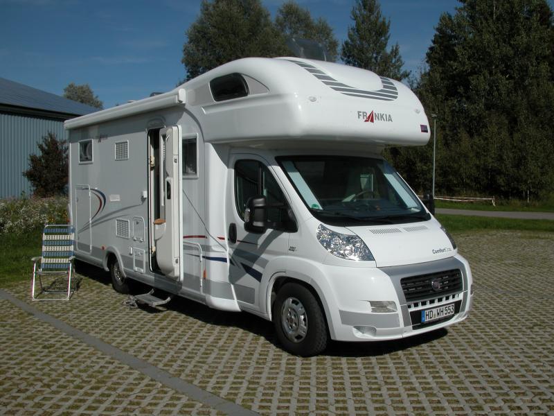 Frankia A 740 Bd Wohnmobil